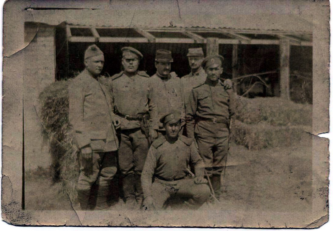 photo soldats Français et soldats Russes